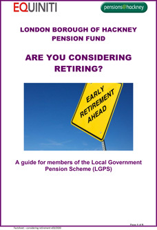 Icon for Are you Considering Retiring? document
