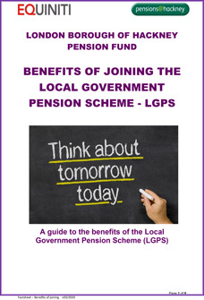 Icon for Benefits of Joining the LGPS document
