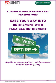 Icon for Ease your way into Retirement with Flexible Retirement document