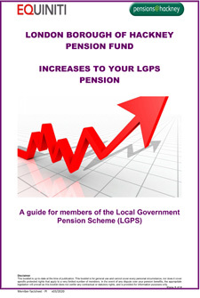 Icon for Increases to your LGPS Pension document