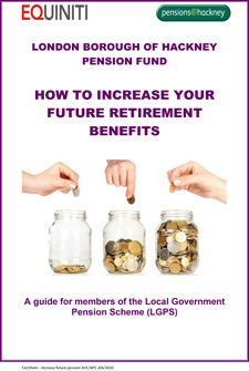 Icon for Increasing your future pension benefits document