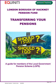Icon for Transferring your pensions document